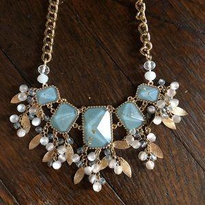 Metallic Coastal Inspired Necklace